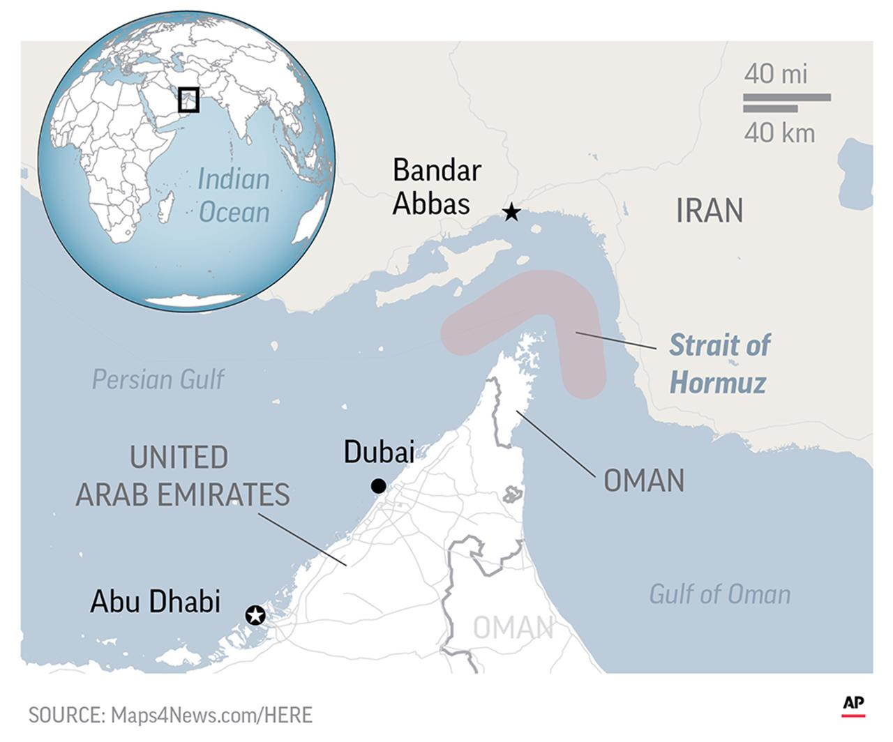 AP EXPLAINS: Why send a US aircraft carrier to the Gulf ...