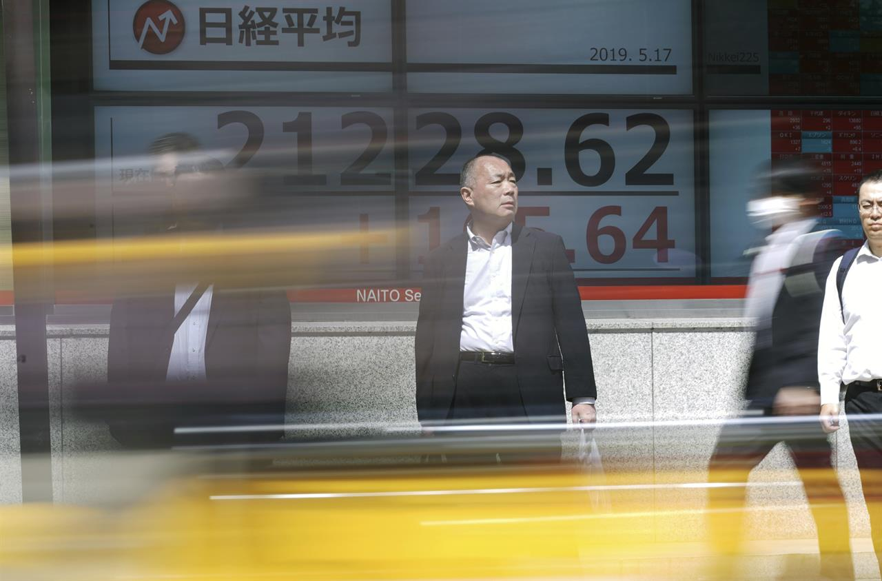 World shares fall as Huawei sanctions stir trade fears | AM