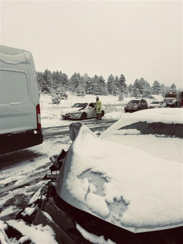 Northern Arizona gets rare dose of late-season snow | The ANSWER