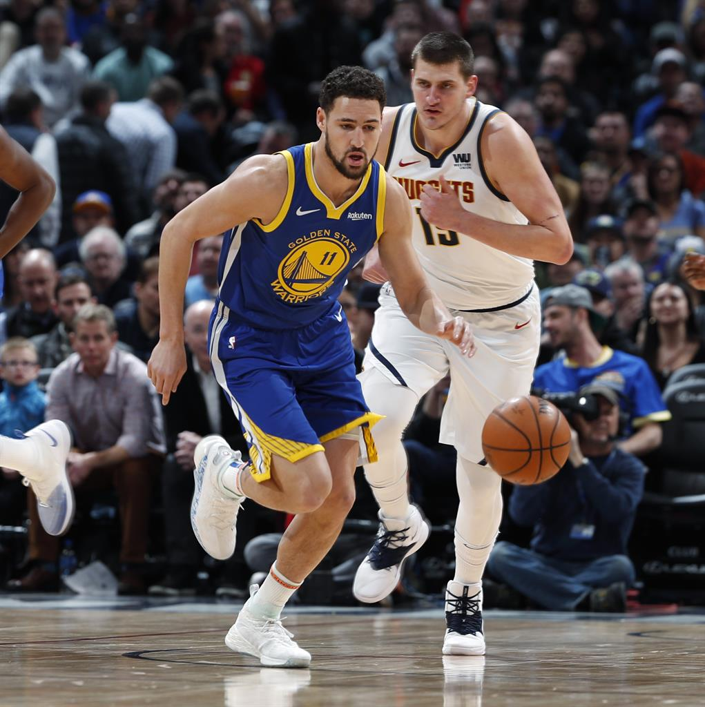 Warriors Use NBA-record 1st Quarter To Rout Nuggets 142