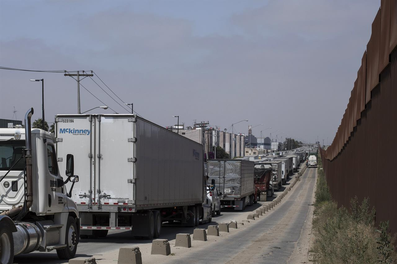 Shipping from Mexico rushed before tariff threat lifted