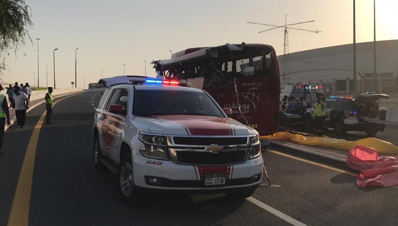 Police say Oman-Dubai bus crashes, killing 17 in UAE | Money