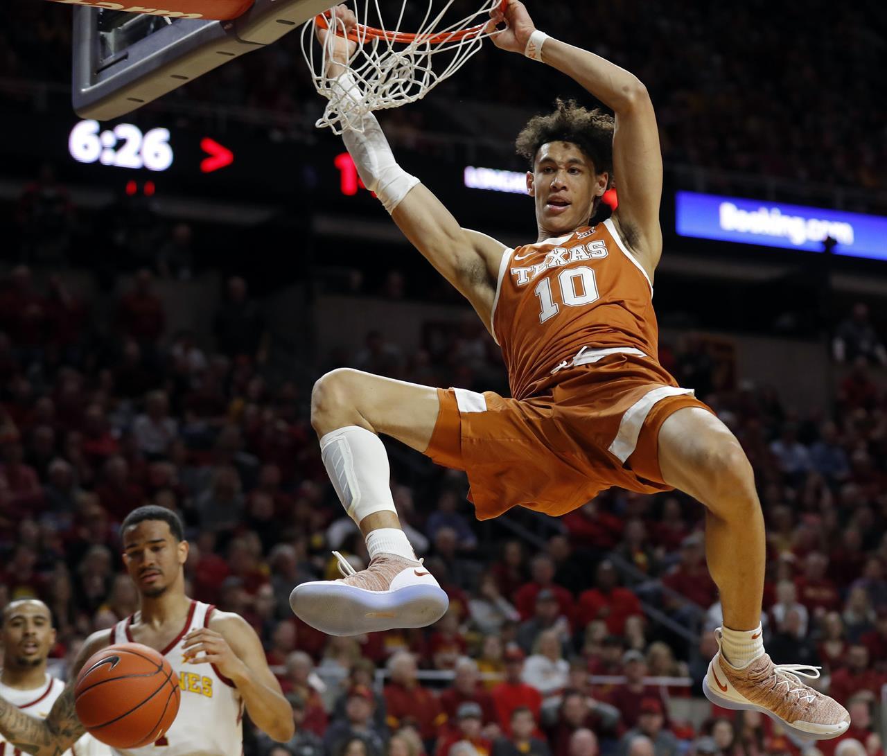 Texas' Jaxson Hayes headlines list of big men in NBA draft   The