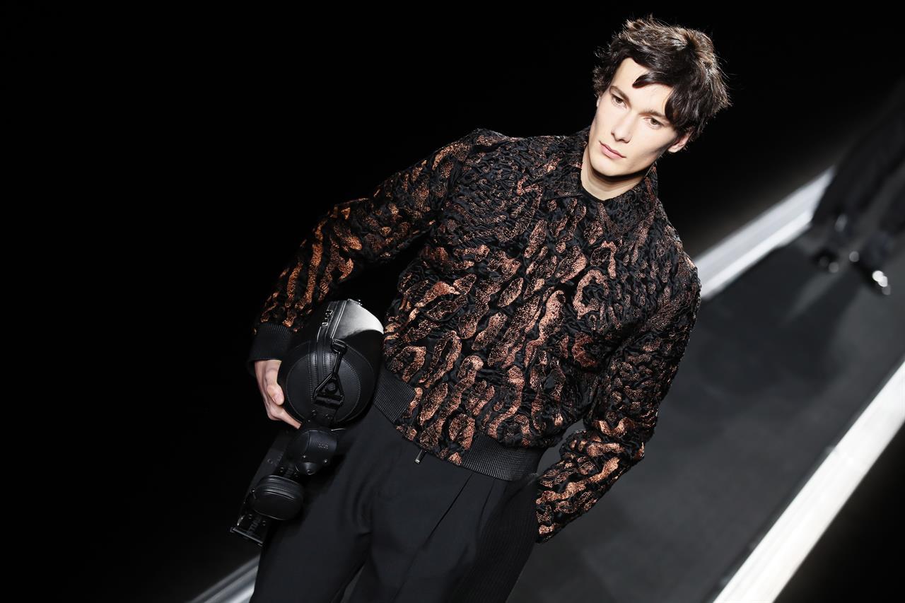 8f965ae105b ... Dior pulls the stars in conveyor-belt menswear show in Paris ...