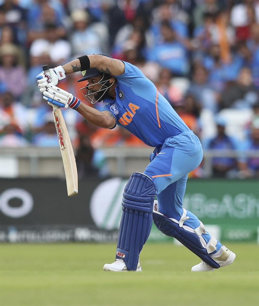 Superstar Kohli working in the shadows at Cricket World Cup