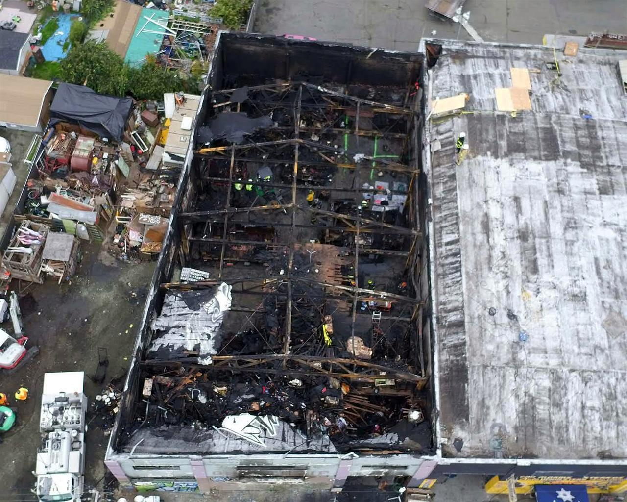 Defendant in fatal warehouse blaze 'not blaming anyone'