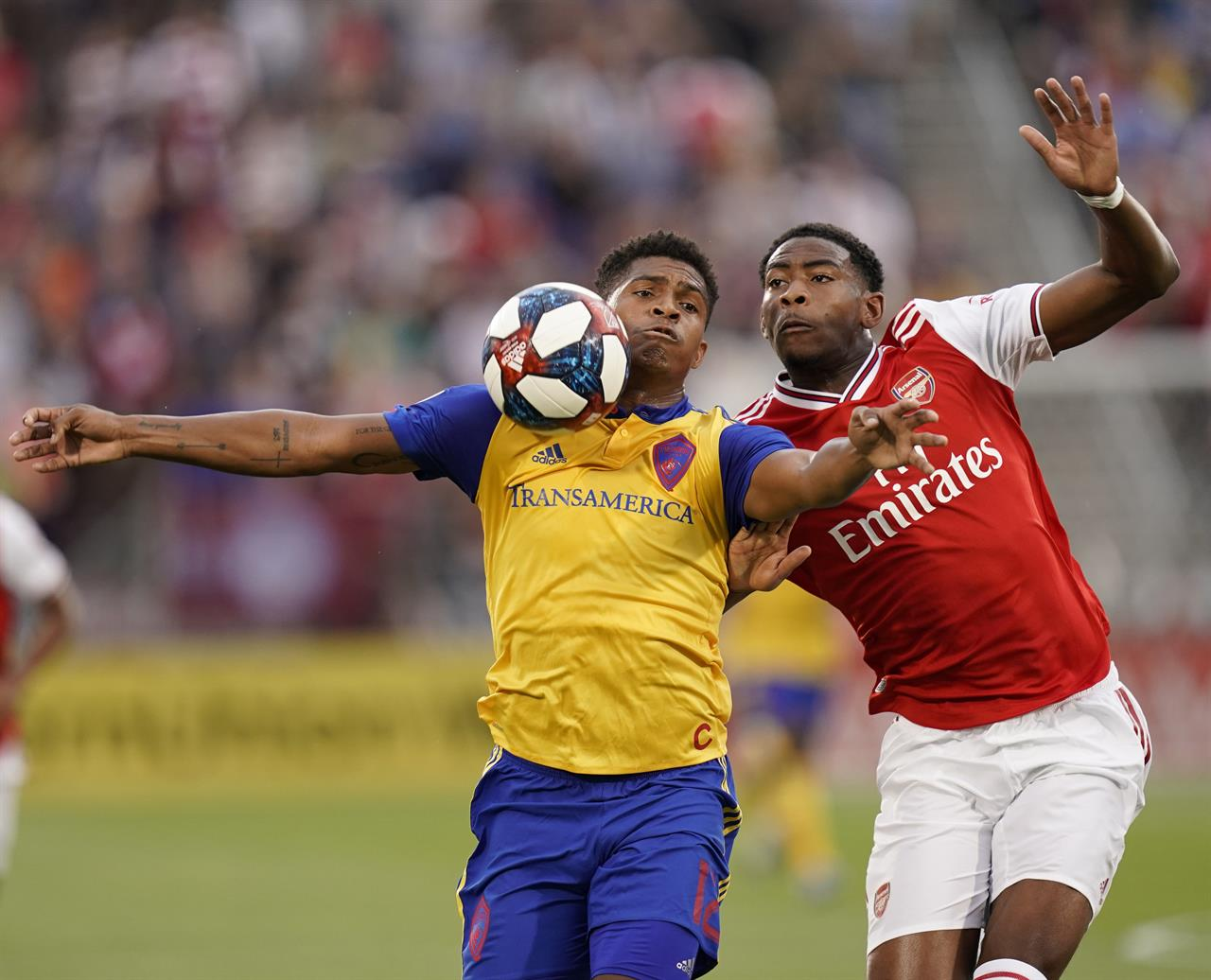 Arsenal tops Rapids 3-0 in friendly match | AM 660 The Answer