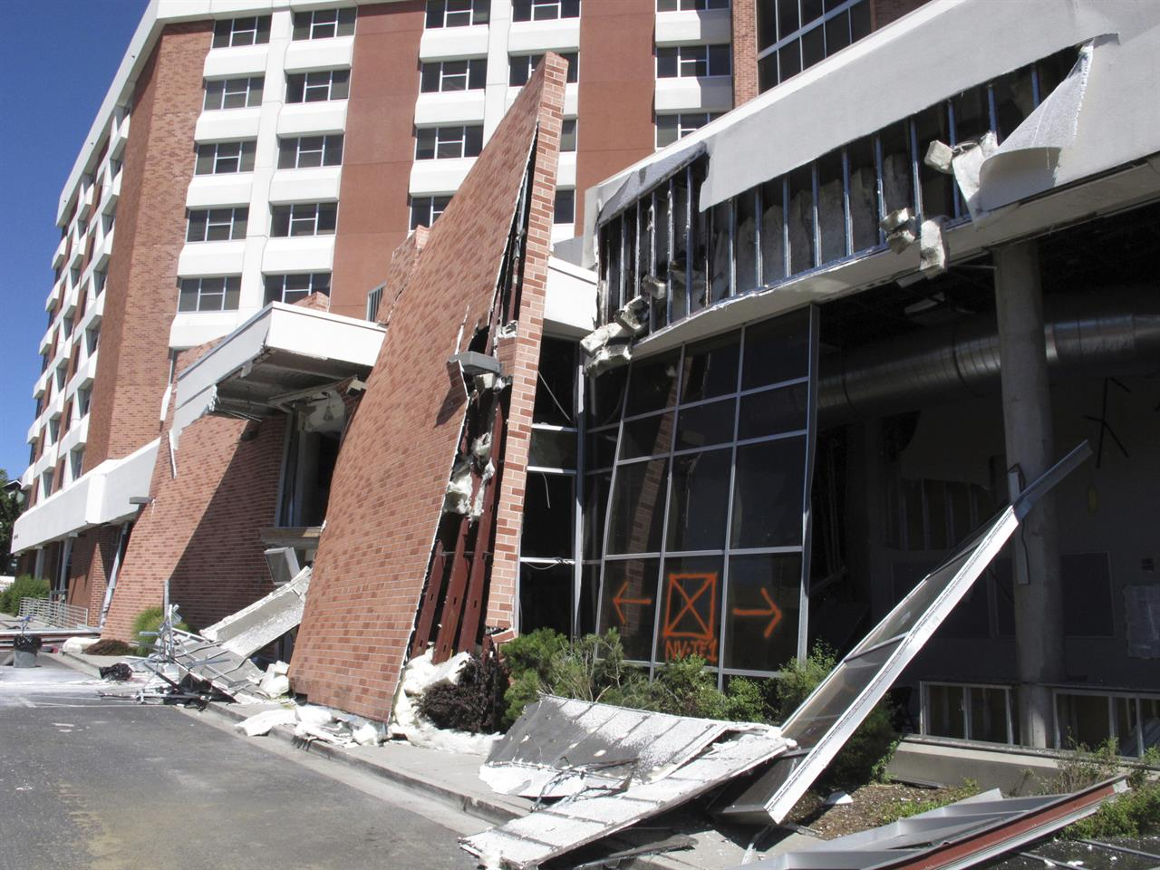 Nevada dorms rocked by gas blast closed for 1 to 2 years