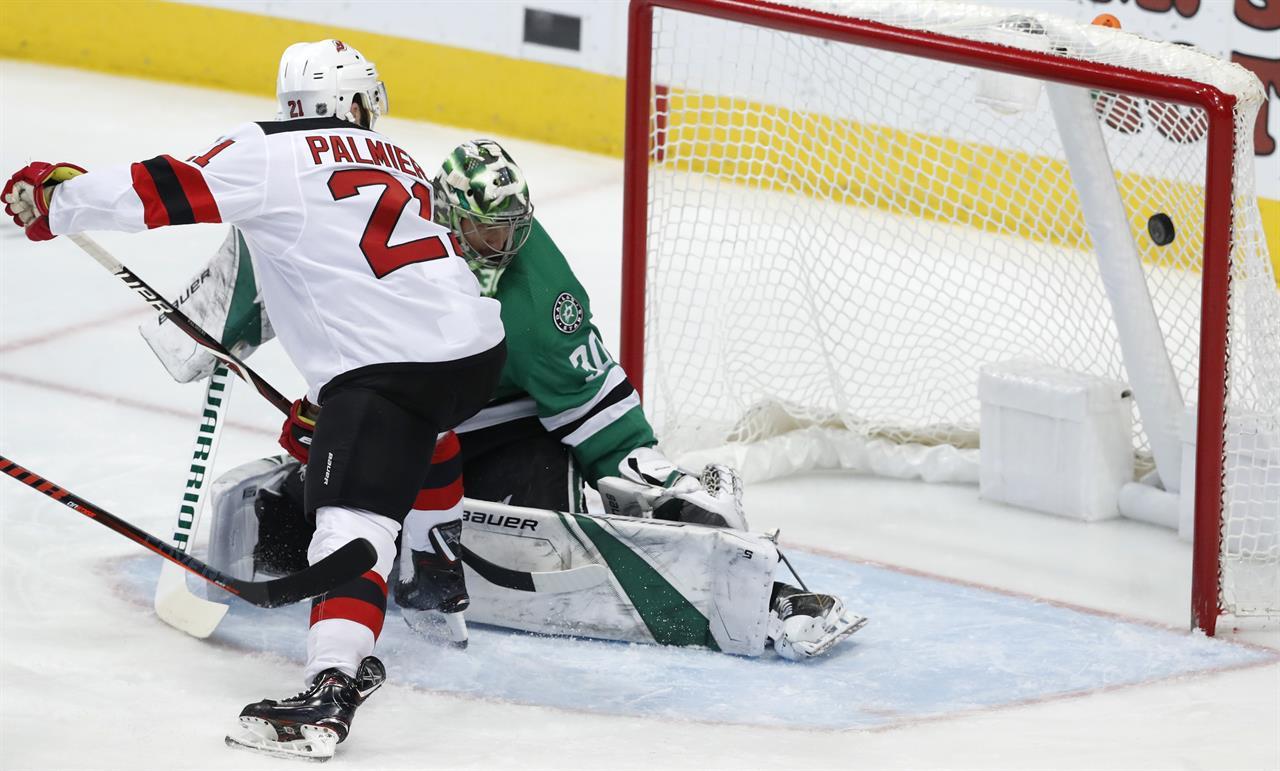 241c53bc2 ... Heiskanen s third-period goal lifts Stars over Devils ...