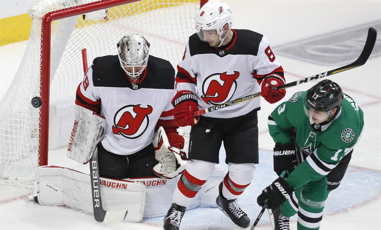 71431e9ff4b Heiskanen's third-period goal lifts Stars over Devils 5-4 | AM 970 ...