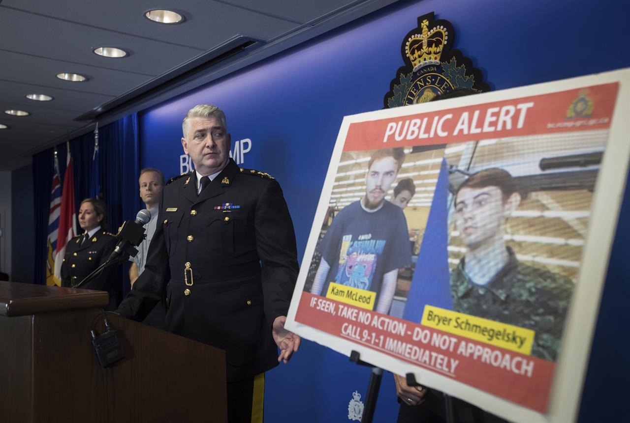 Canadian police confirm sightings of murder suspects | 990 AM WNTP