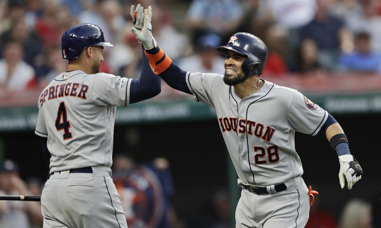 Verlander strikes out 13, Astros blank Indians 2-0 | AM 1070