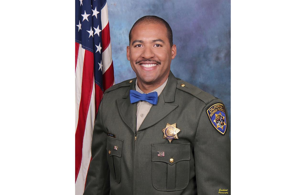 Cop fatally shot during traffic stop mourned in California