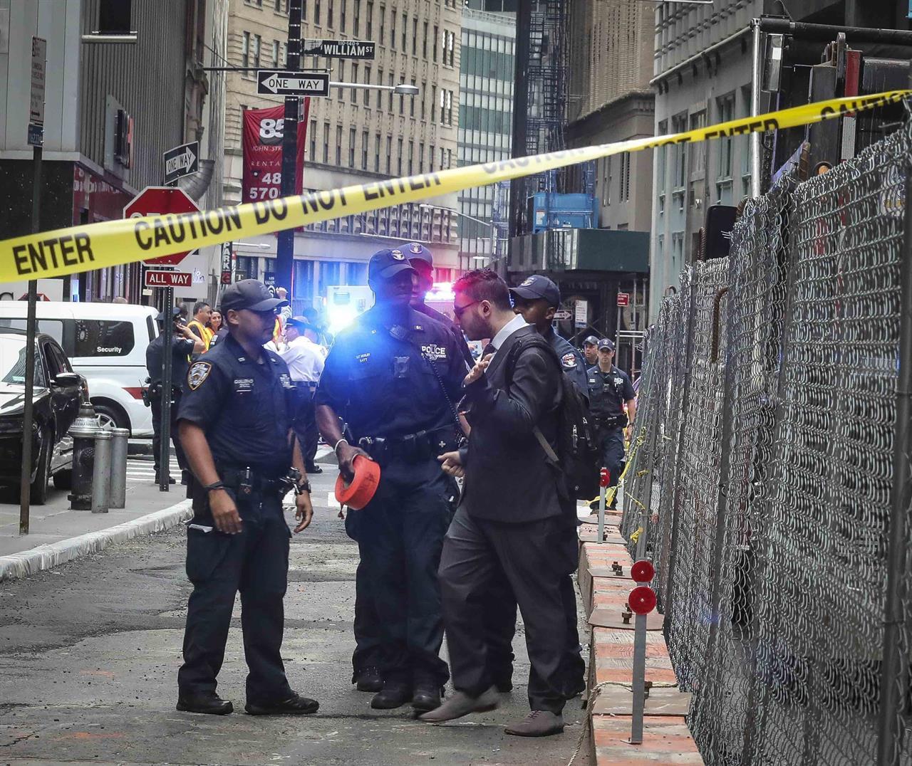 New York City subway scare suspect taken into police custody
