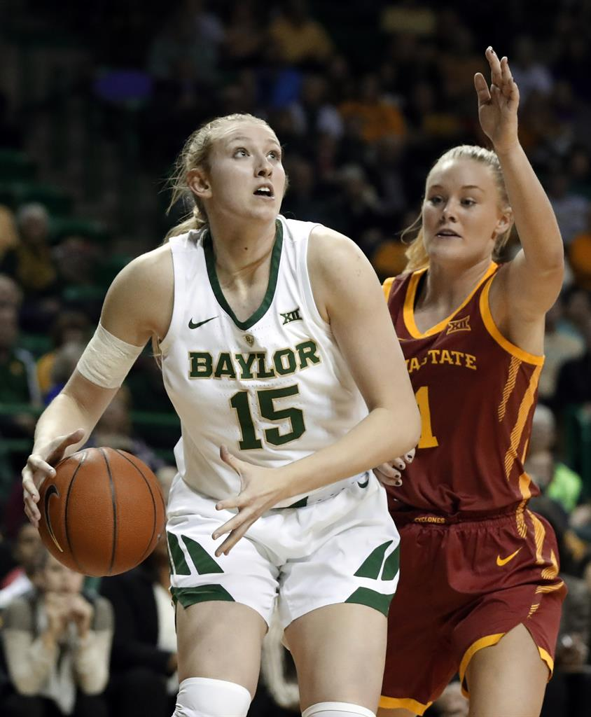 No. 2 Baylor Women Roll To 84-69 Win Over No. 20 Iowa