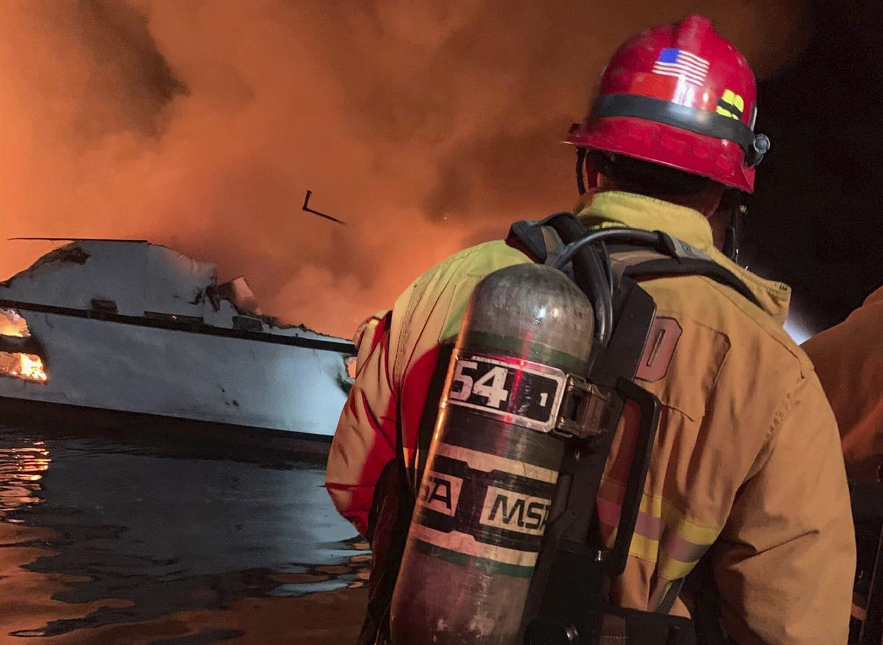 Coast Guard: 25 bodies found after California boat fire | AM
