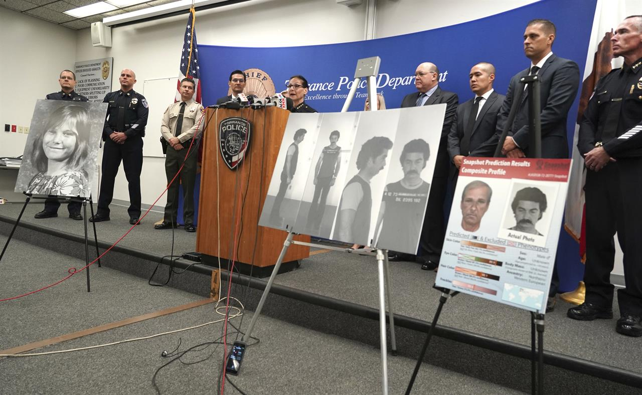 California cold case solved through DNA, genealogy