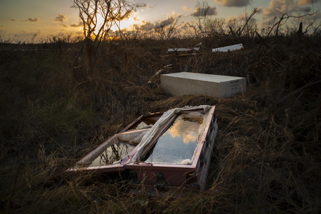 Bahamas tackles massive clean-up after Dorian, 1,300 missing