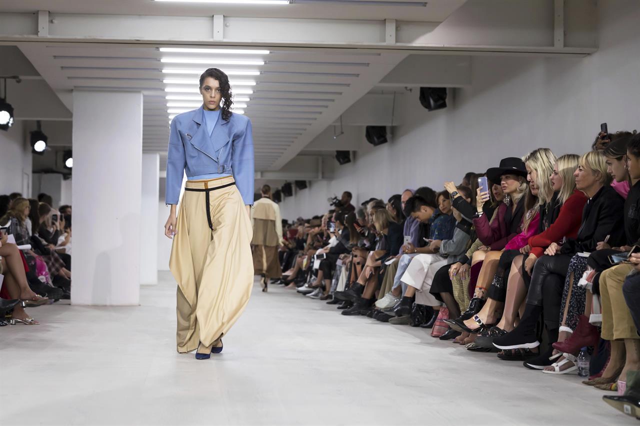 Denver Fashion Week 2020.Model Naomi Campbell Takes Spotlight At London Fashion Week