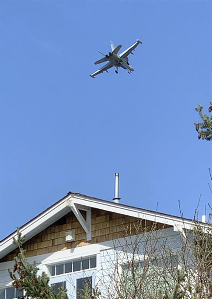 Island residents grumbling over Navy's Growler jet noise