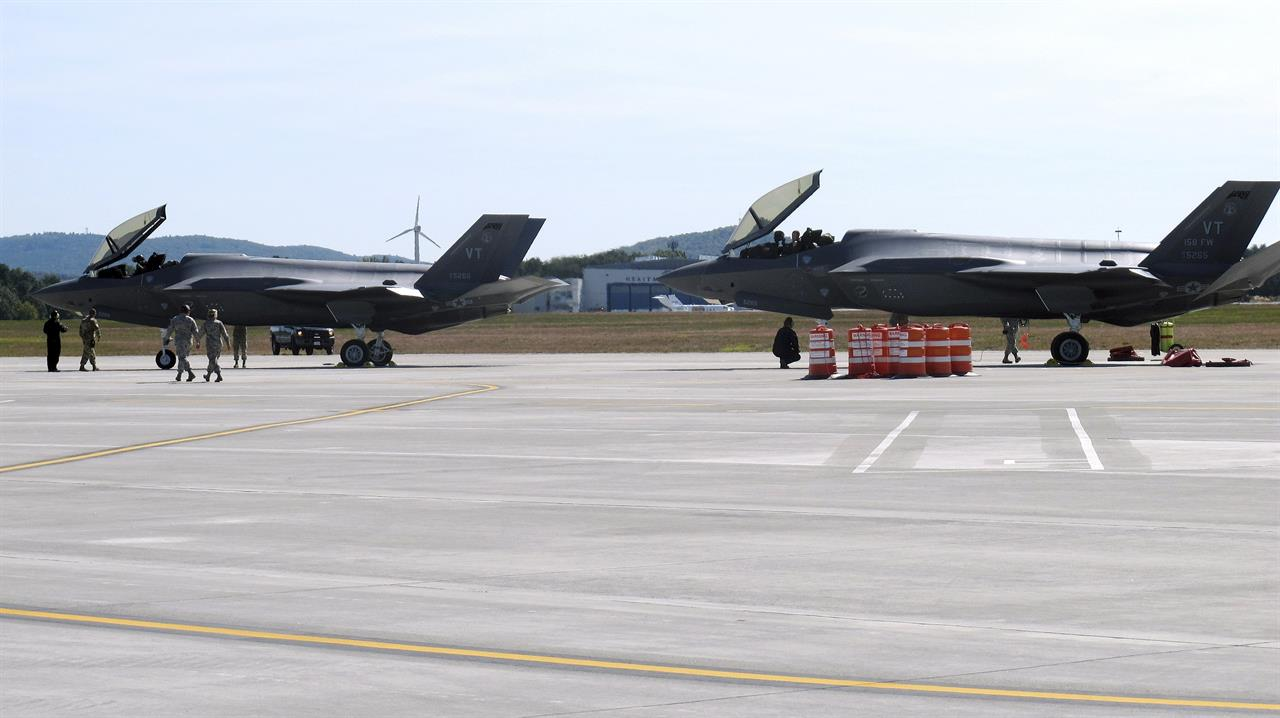 Next-generation F-35 fighter jets go to National Guard unit