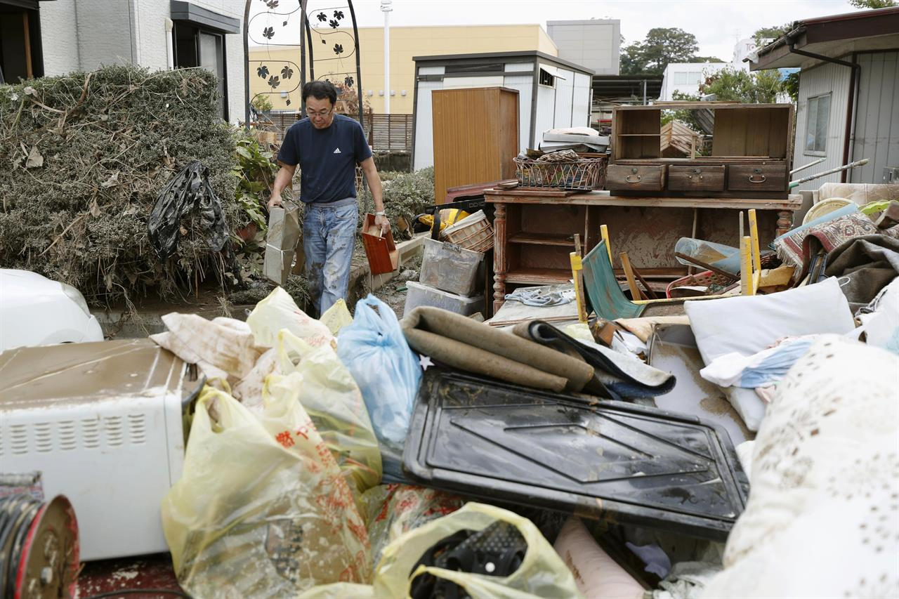 More victims, more damage found in Japan typhoon aftermath