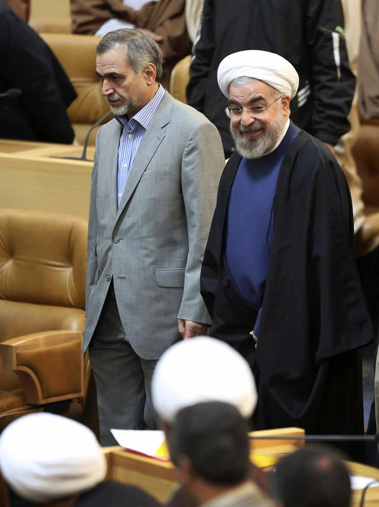 Report: Brother of Iran's president begins prison term