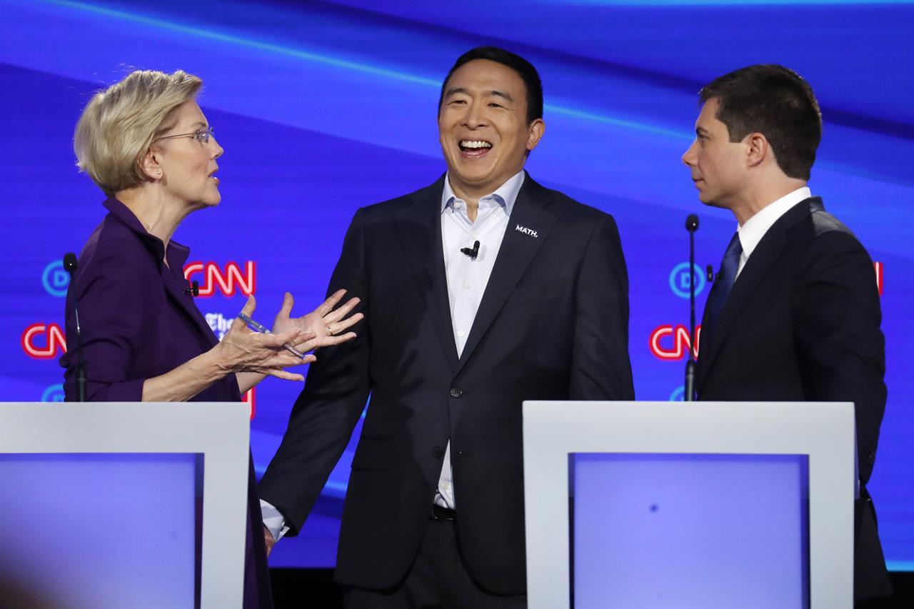 Analysis: Elizabeth Warren growing into front-runner status