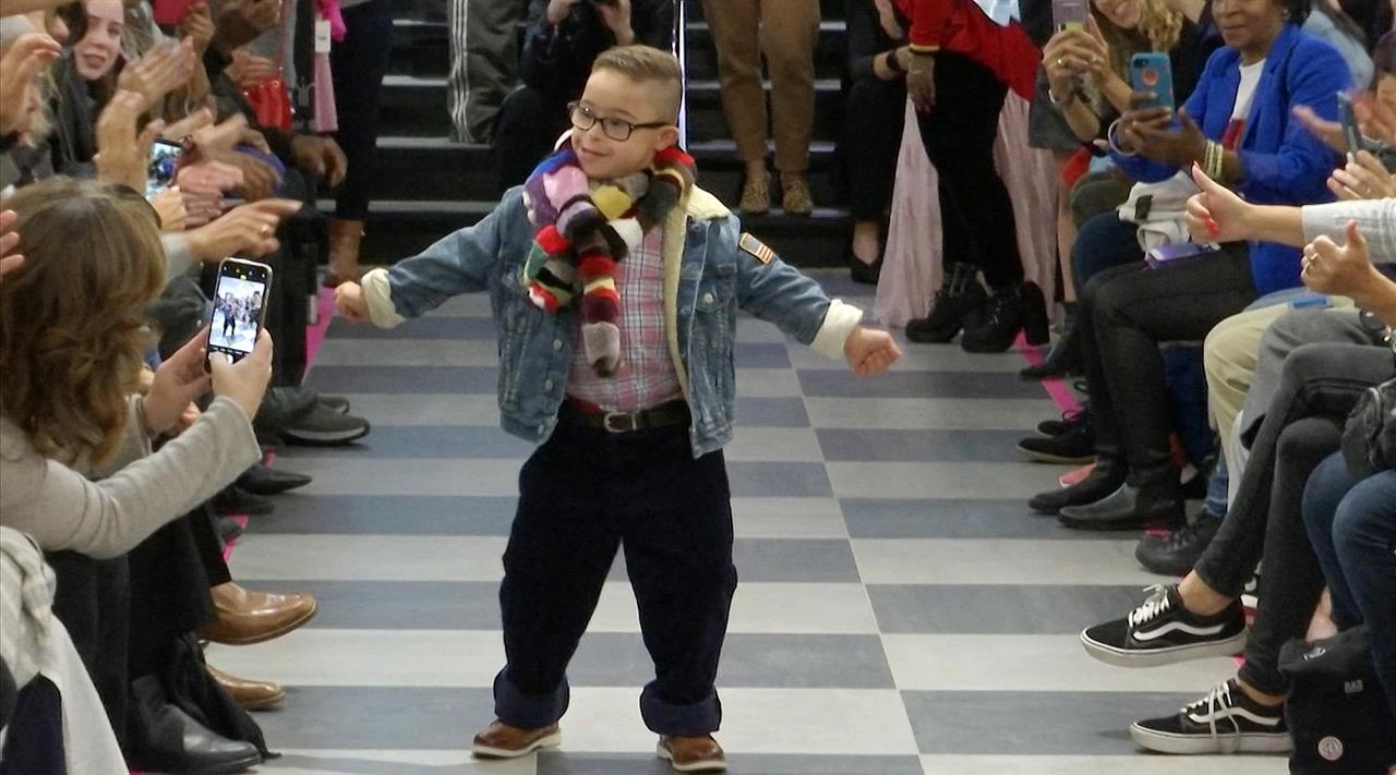 Fashion show lets Down syndrome models strut their stuff