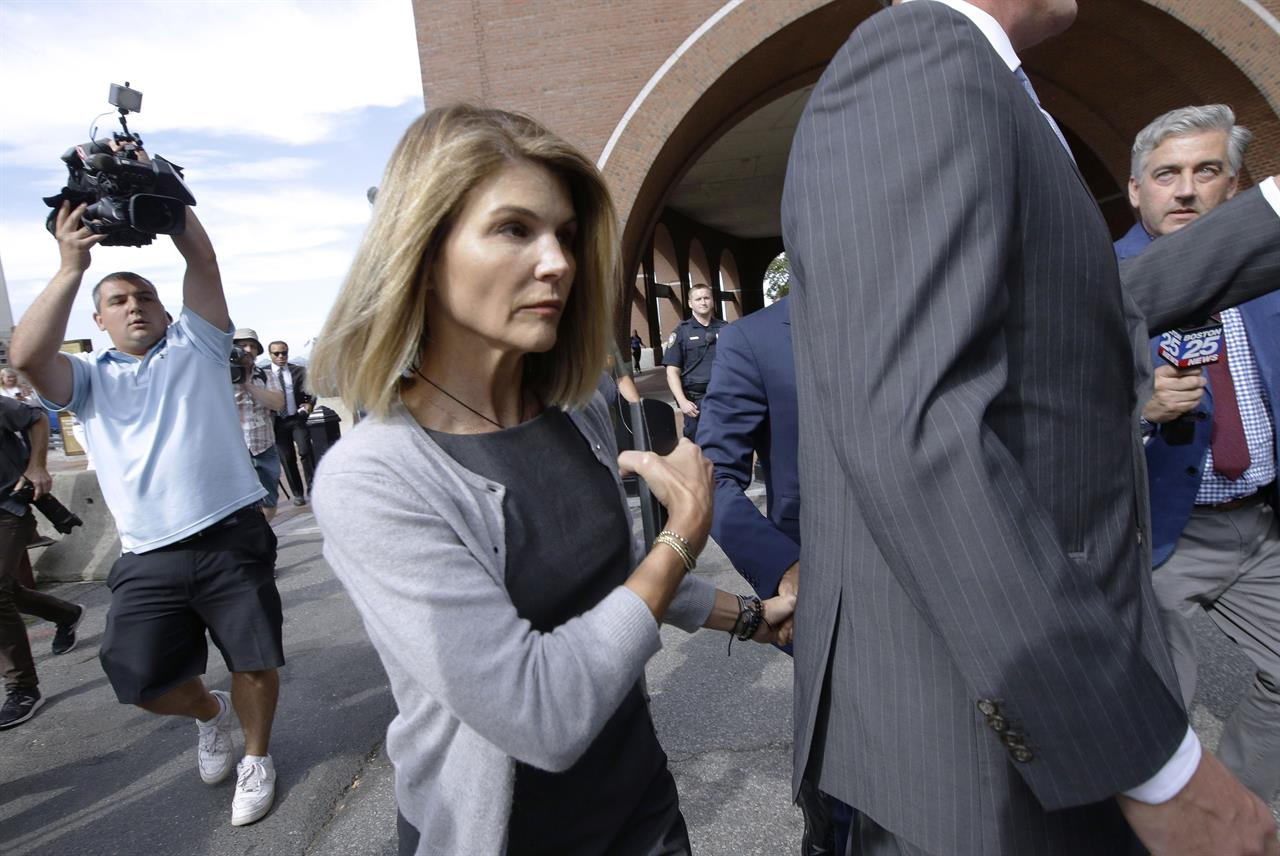 Lori Loughlin, other parents charged again in college scheme