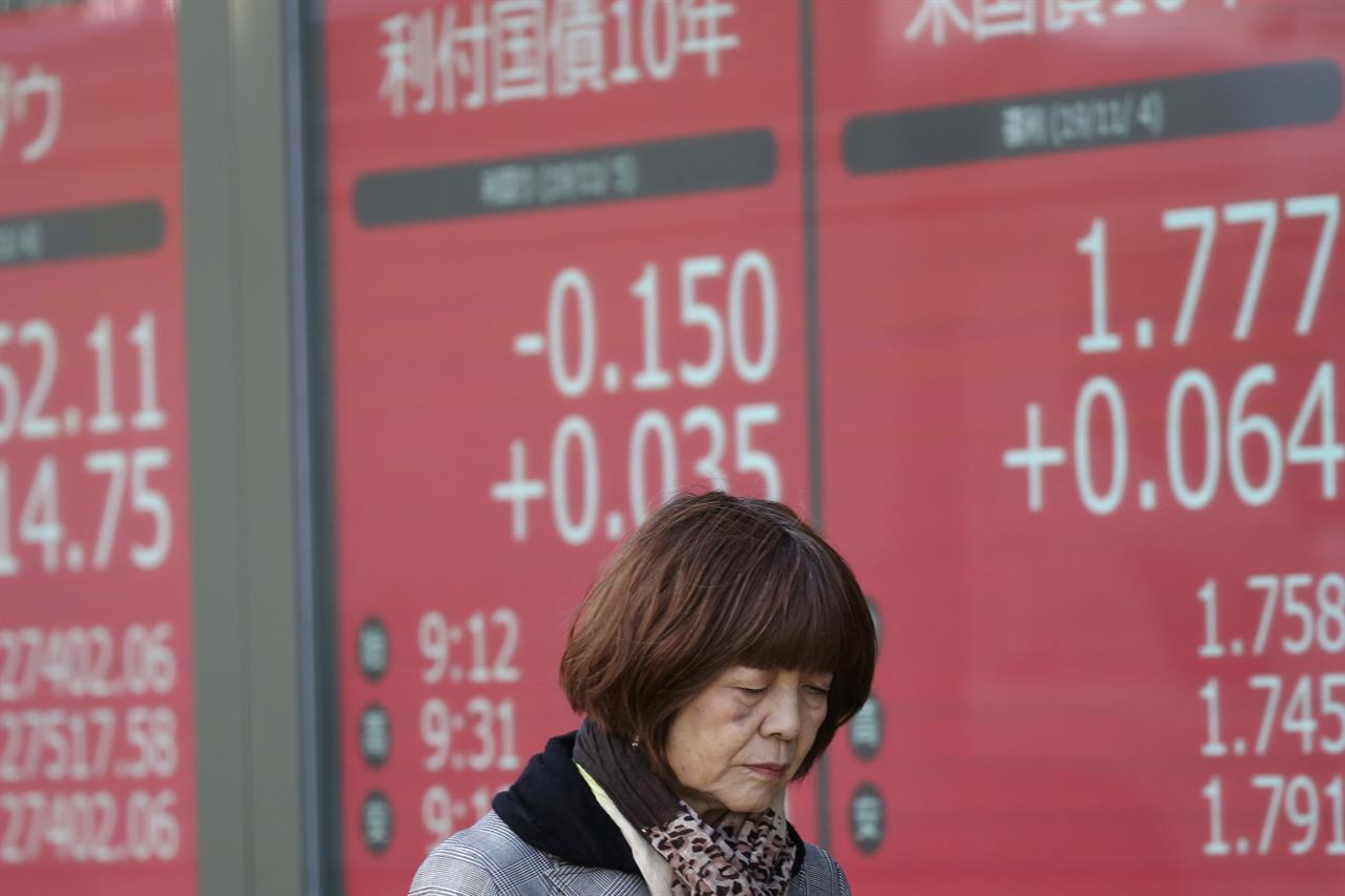 Global stocks higher as investors monitor US-China talks
