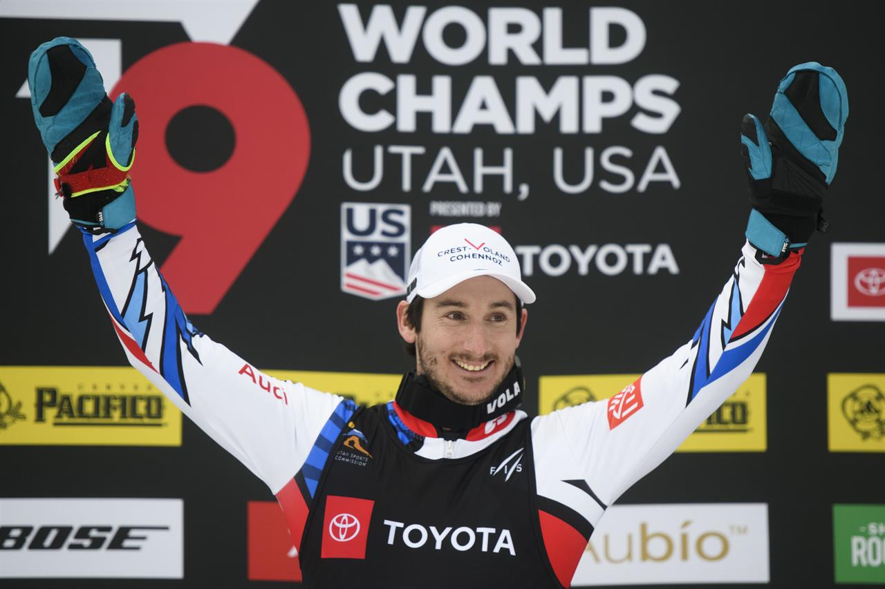 Place Thompson Earn Gold Medals At Worlds In Skicross Event