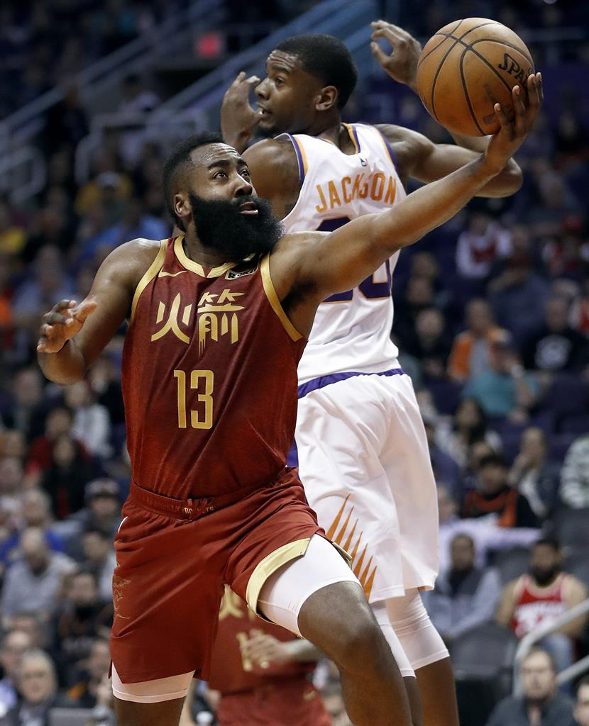 James Harden Rockets: Harden Scores 44 Points, Rockets Beat Suns 118-110