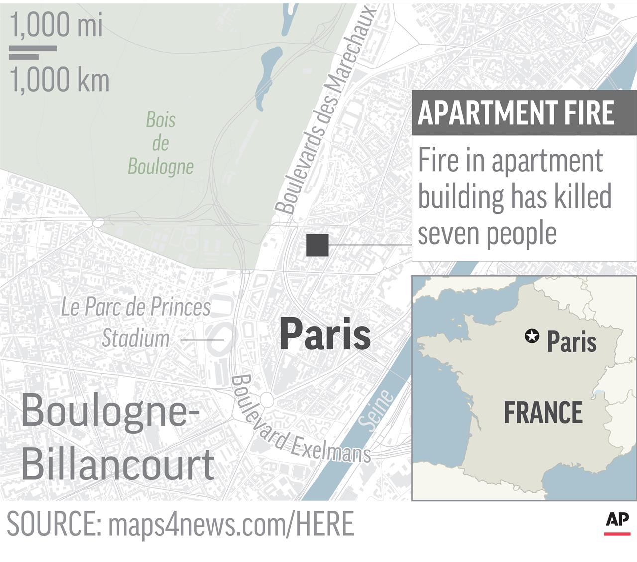 Paris Georgia Map.Paris Prosecutor Fire Suspect Just Ended Psychiatric Stay Am 1190