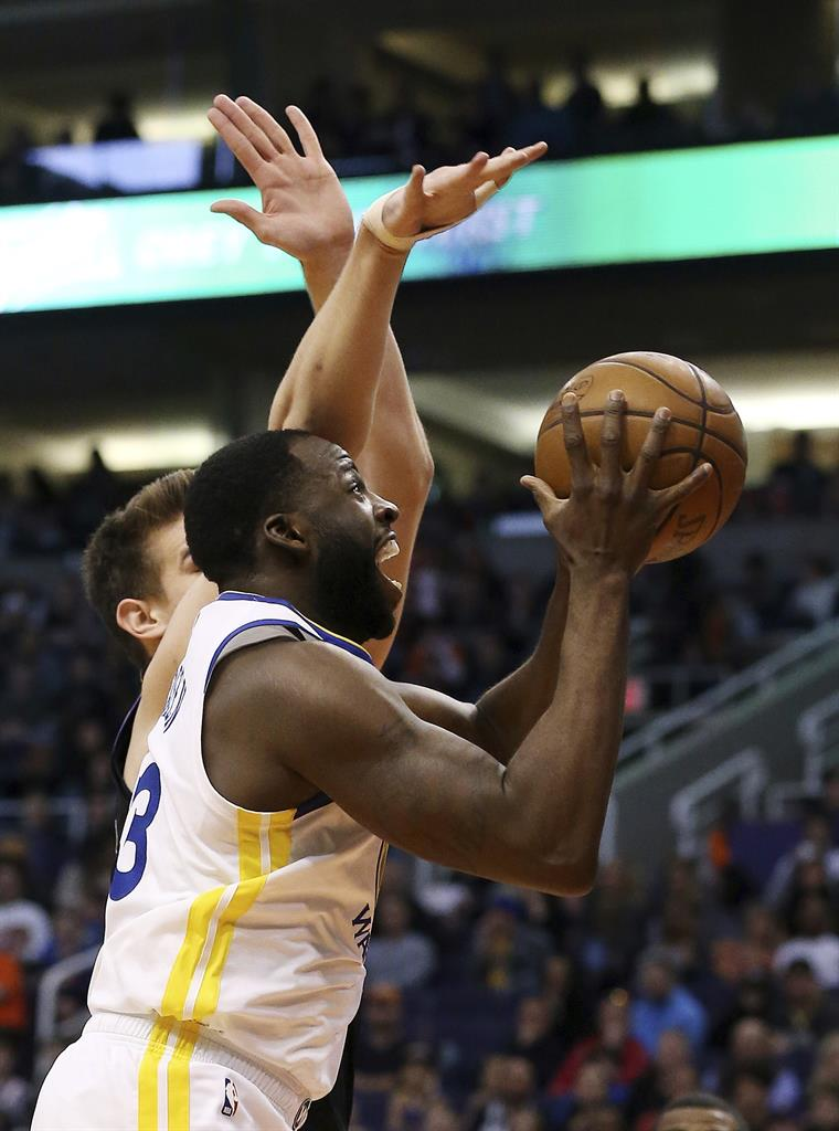 Curry breaks out of slump, helps Warriors beat Suns | AM