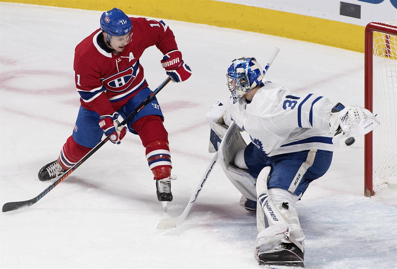Tavares Scores In Overtime Maple Leafs Stop Canadiens 4 3 Philadelphia Pa