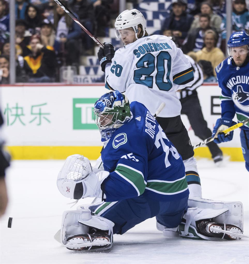 Kane Scores Twice Sharks Rout Canucks 7 2 Am 970 The Answer New