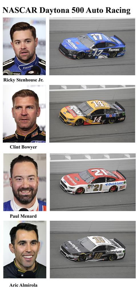 Drivers competing in the 2019 Daytona 500   AM 1420 The