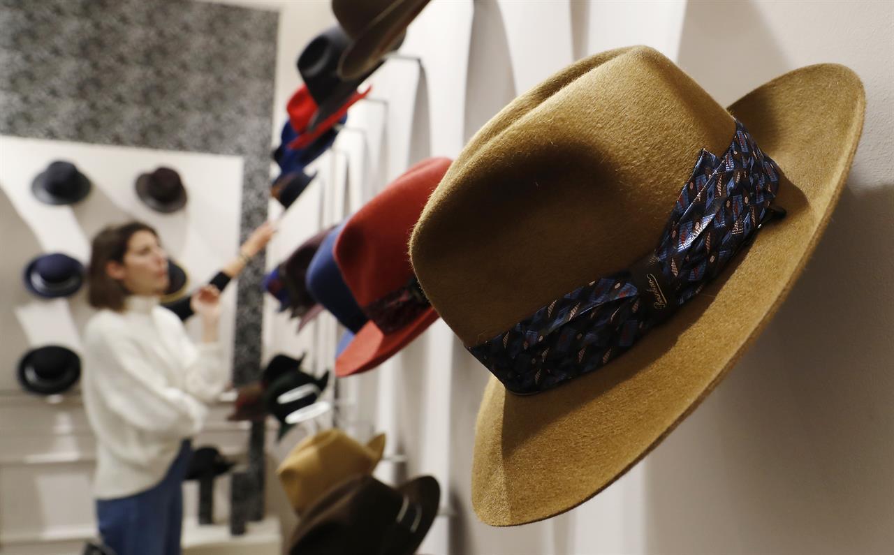 1ea8cbbfcad From Bogart to millennials  Italian hat maker tries new look ...