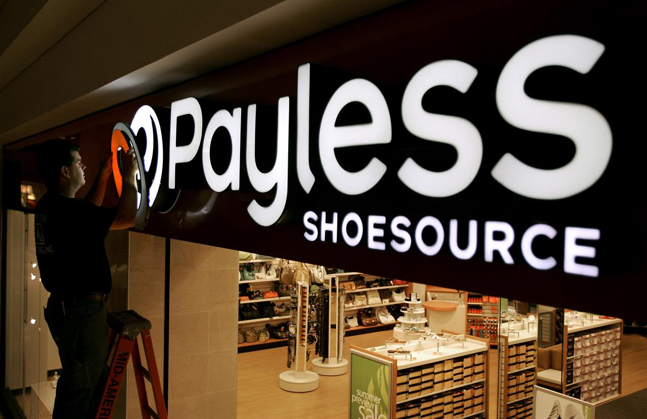 4744865271d Payless files for bankruptcy, closing North American stores | AM ...