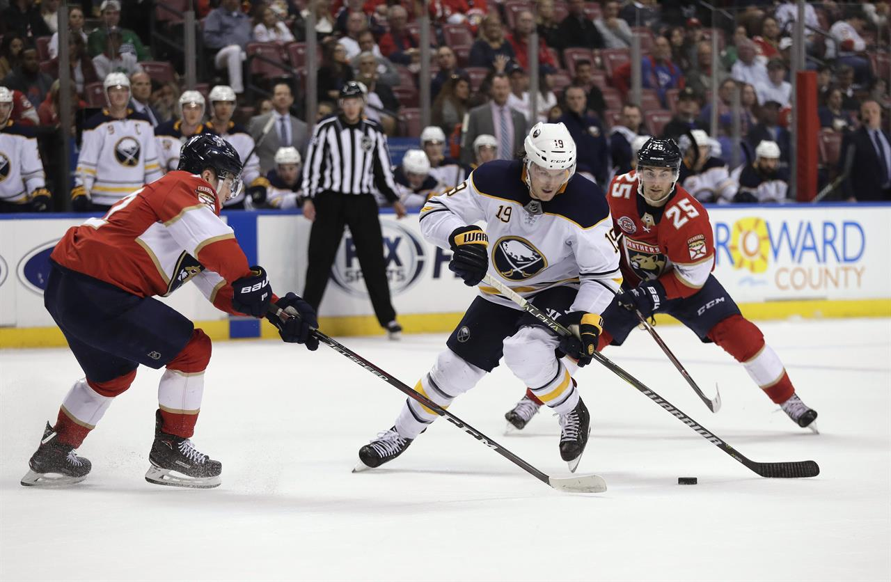 ... Huberdeau scores 2 as Panthers beat Sabres 4-2 ... 9a2ef4043