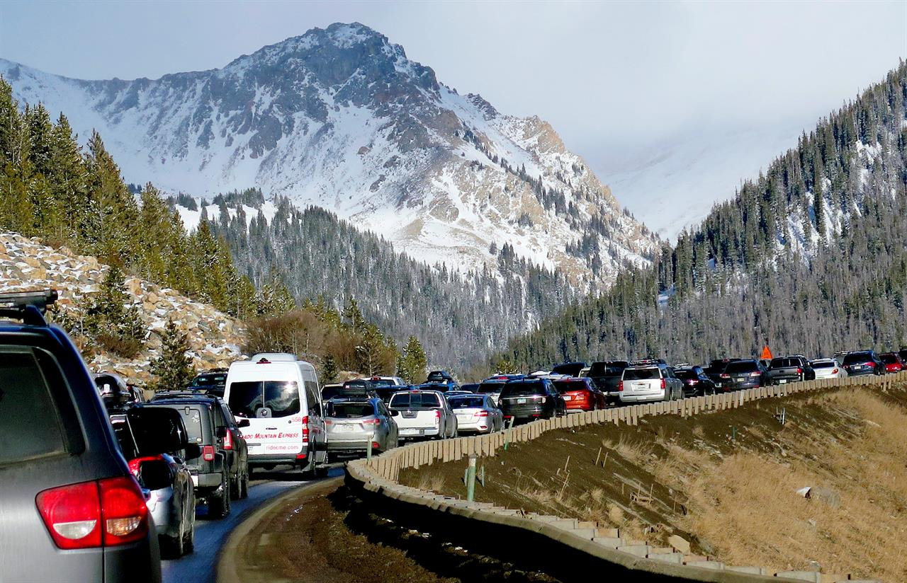 Colorado faces meager budget in fight against ski traffic