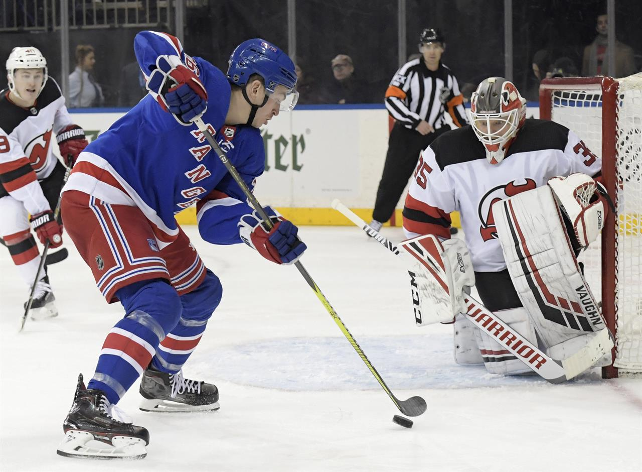Rangers too much for rival Devils 5-2  0f4293eba