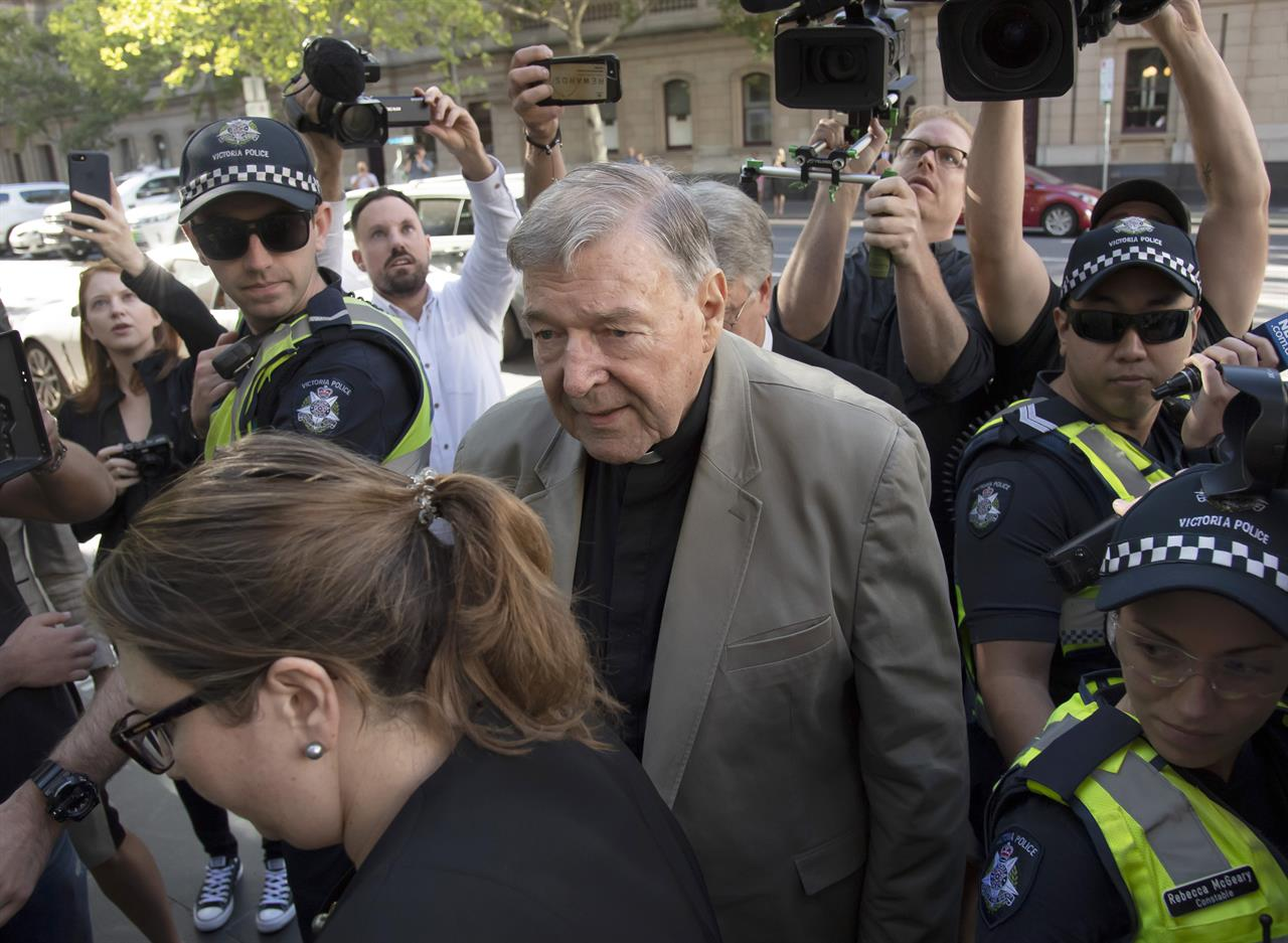 Australian Cardinal Pell To Spend His First Night In Prison  Money 1055 Fm -8424