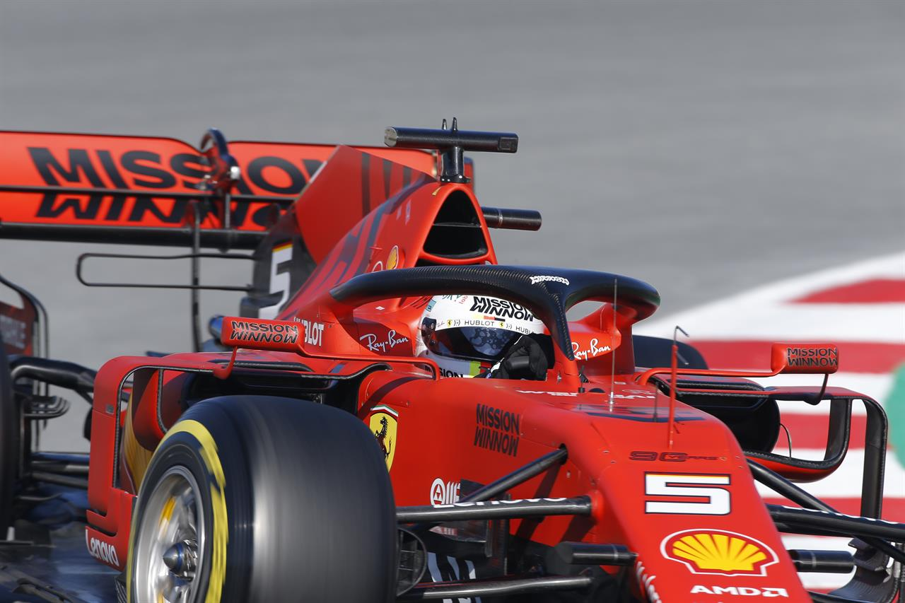 Ferrari driver Vettel crashes in F1 preseason testing | AM 880 The