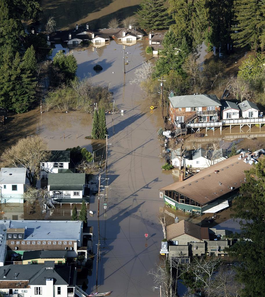 Denver News Flooding: The Latest: Man Dies In Northern California Floodwaters