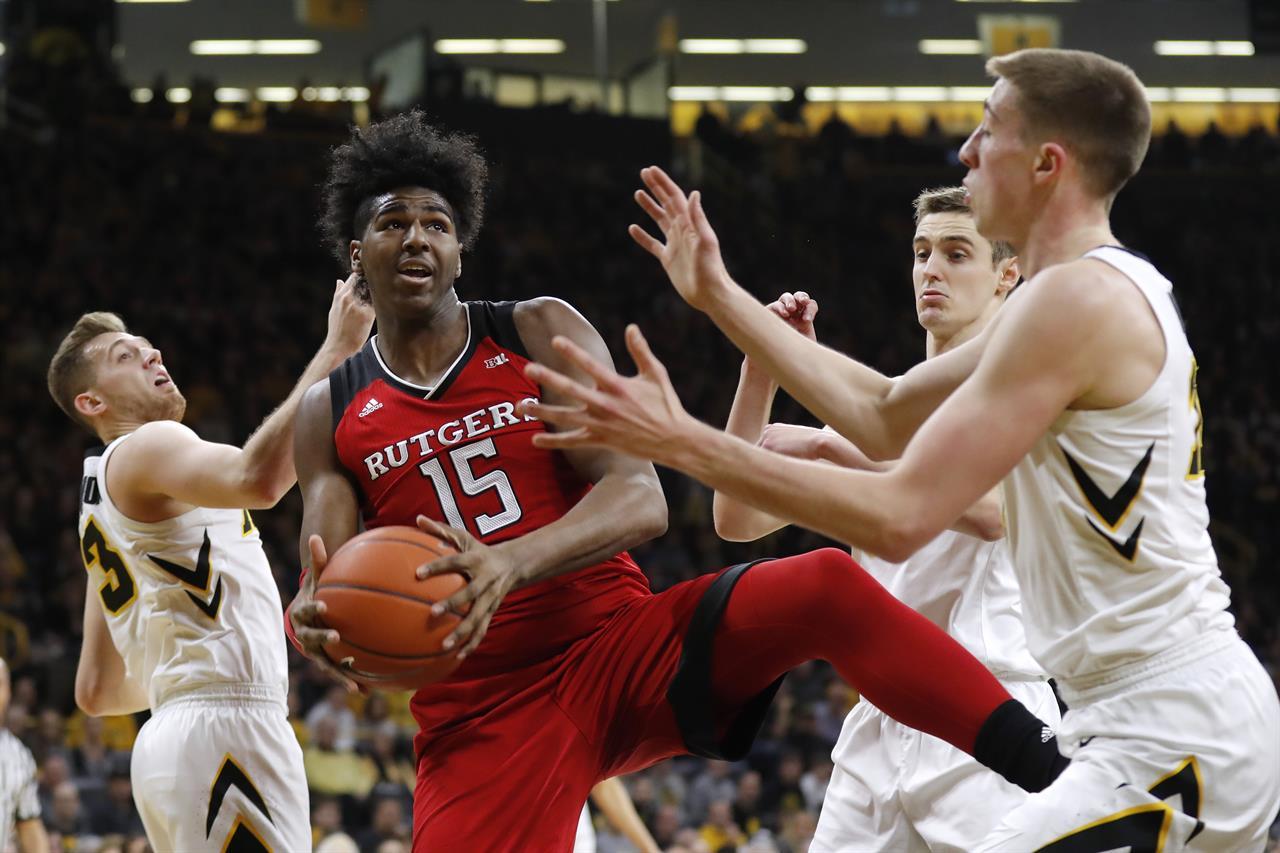Harper scores 27, Rutgers rolls Iowa 86-72 | KDOW-AM - San