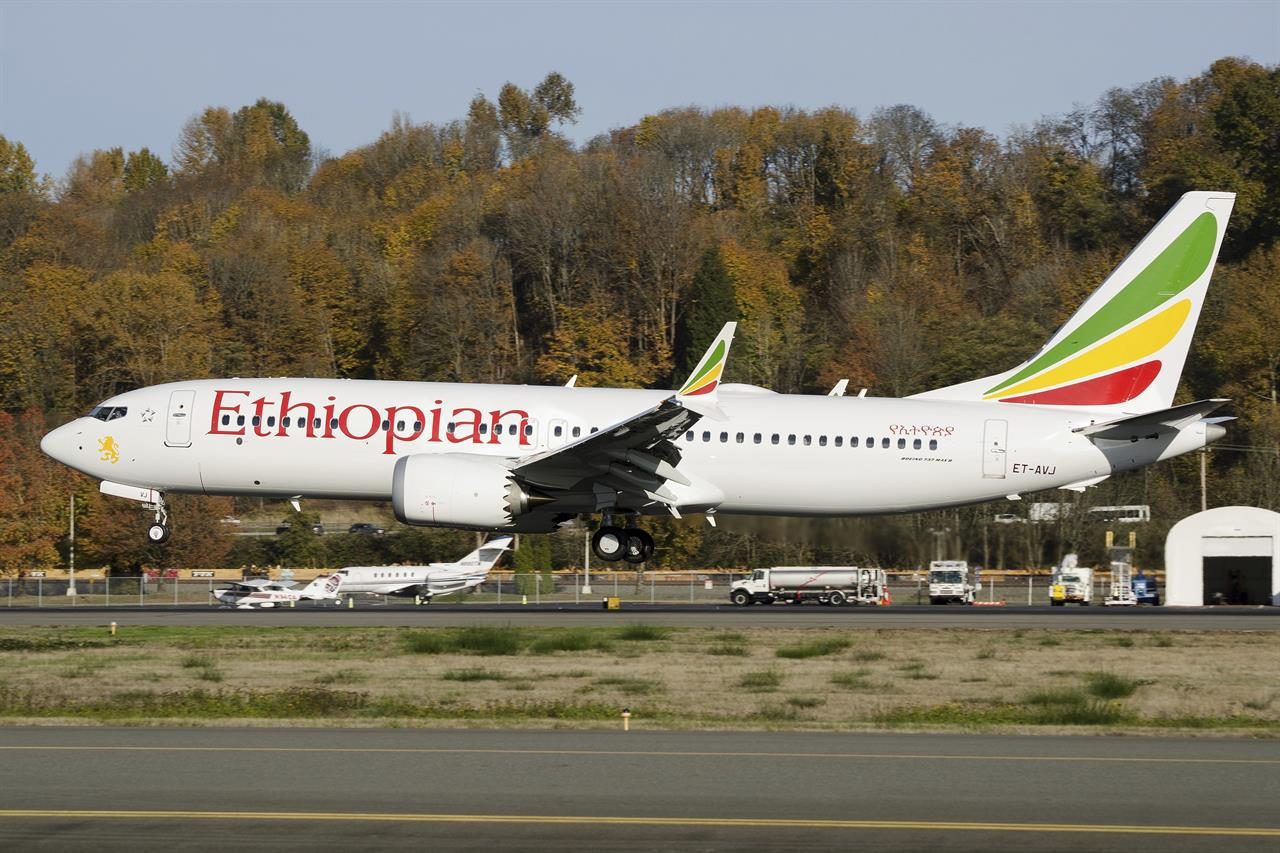 Boeing jet grounded in much of world after Ethiopia crash