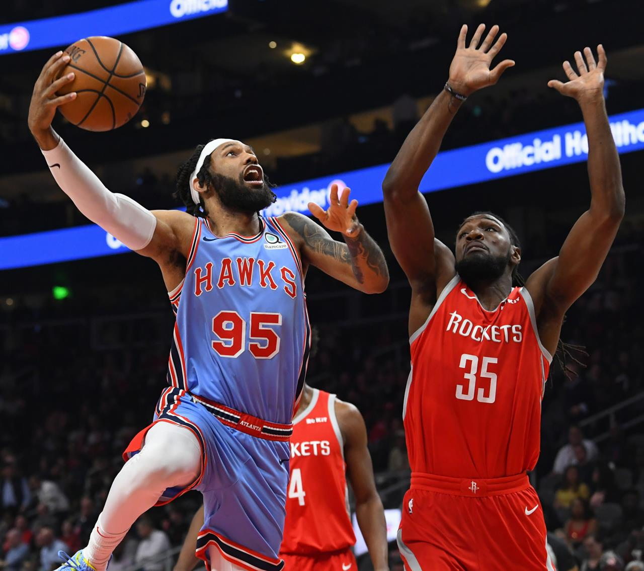James Harden Basketball Camp: Harden, Capela Lead Rockets To Easy Win Over Hawks