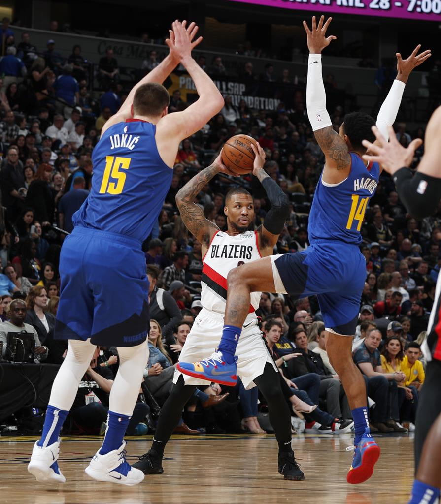 Nuggets Clinch Northwest With 119-110 Win Over Trail